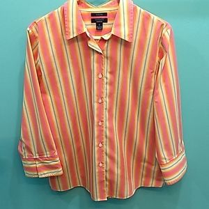 ⛄Westbound Essentials Wrinkle Free Top Size 14